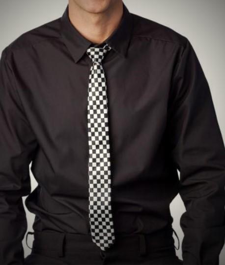 Krawatte Kariert Zirkus