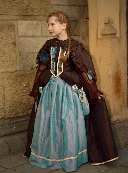 Rokoko Prinzessin Kleid Joséphine