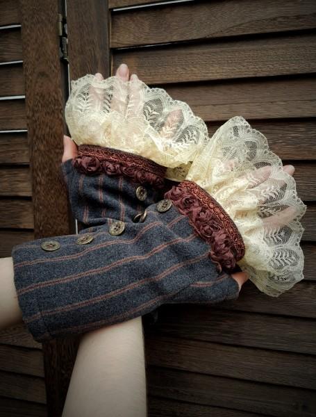 Armstulpen Damen Steampunk