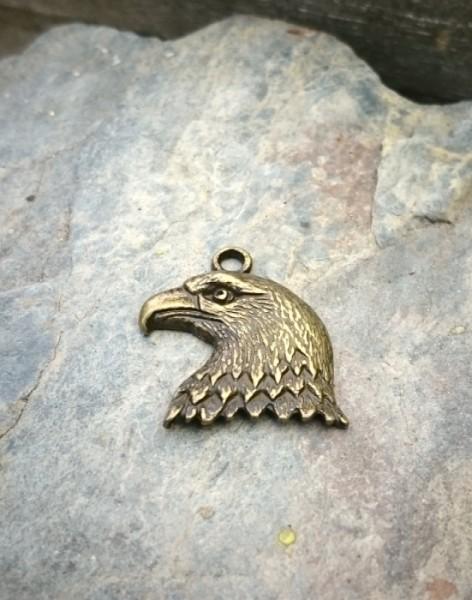Mini Adlerkopf bronze