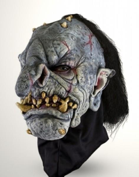 Troll Maske mit Haar