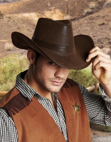 Cowboyhut Lederimmitat