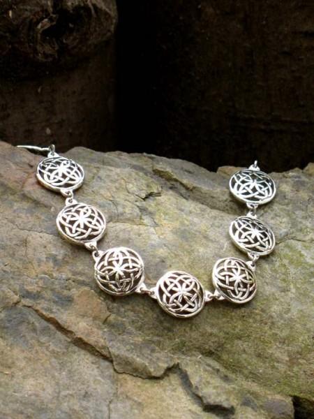 keltisches Silberarmband