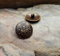Knopf Wappen D'artagnan 20mm