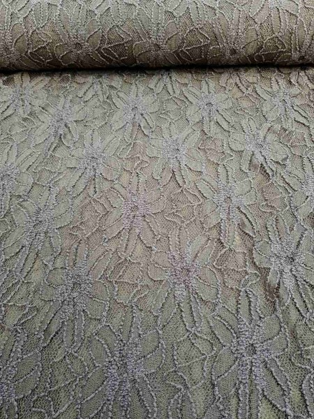 Spitze grau-taupe robust