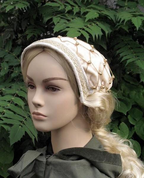 mittelalterliche Kopfbedeckung