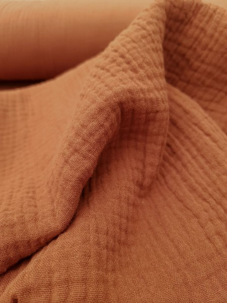 Stoff Baumwolle Crincle Bunt