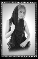 Schal schwarze Witwe