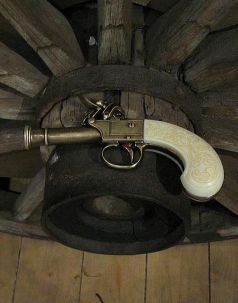 Tromblon klein London 17cm