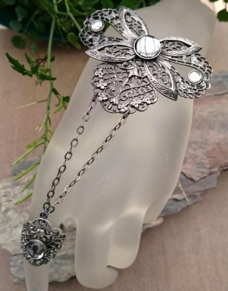 Armband mit Ring Elfen