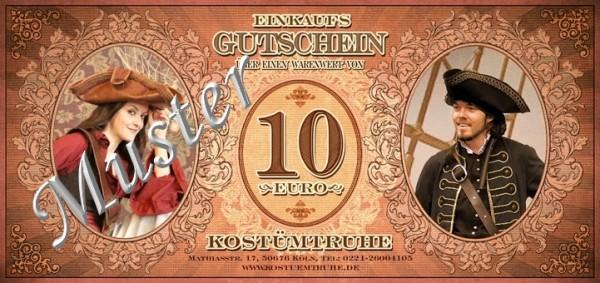 Gutschein 10 EUR für Ladenlokal