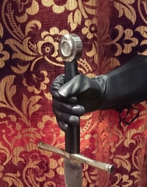 Ritterhandschuhe leichte Qualität