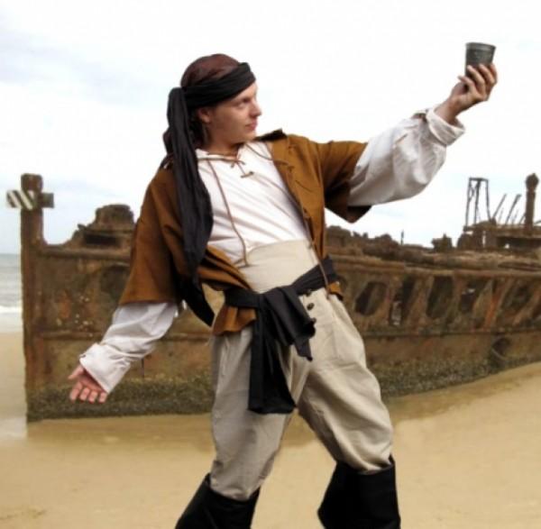 Piratenweste Seeräuber
