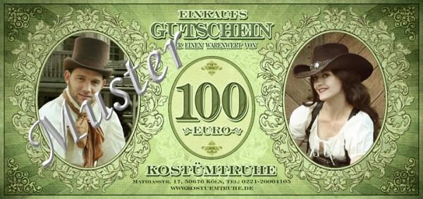 Gutschein 100EUR für Ladenlokal