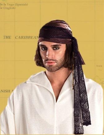 Bandana braun Pirat