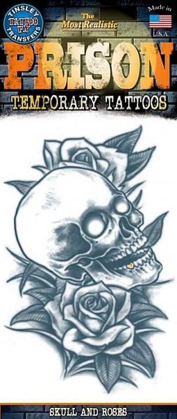 Tattoo Skull & Roses