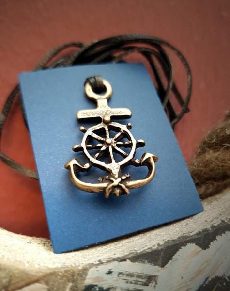 Anker Kette Amulett Anhänger