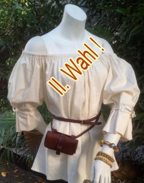 II. Wahl Bluse einfach Mittelalterlich