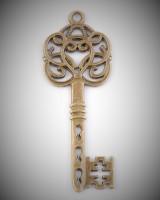 Schlüssel bronze 5,5cm