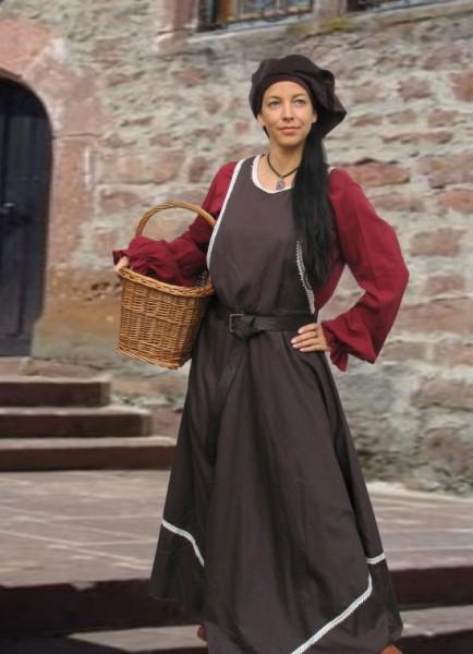 Überkleid Surcote Mittelalterkleid