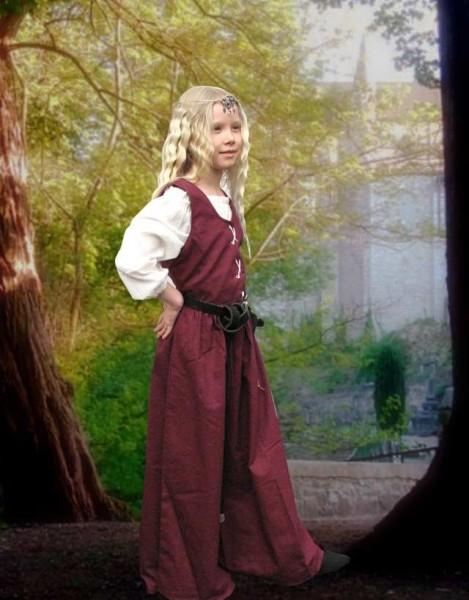 Mittelalter Überkleid Kinder