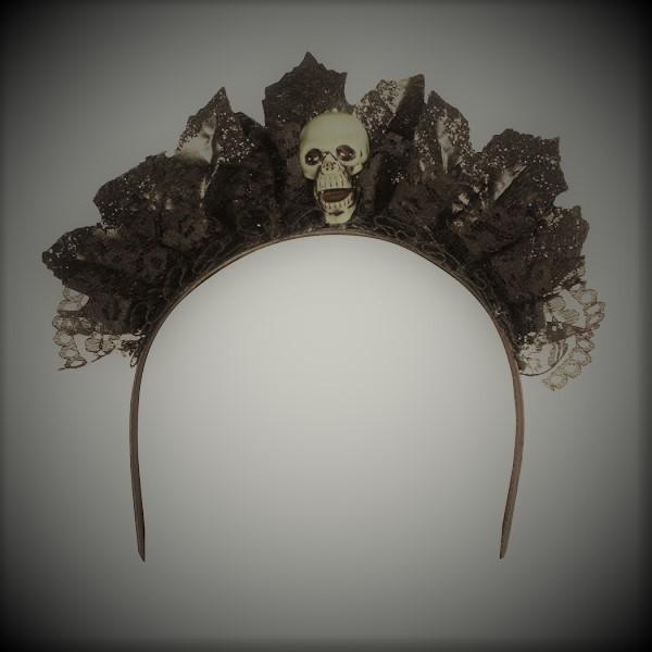 Haarreif Skull Princess