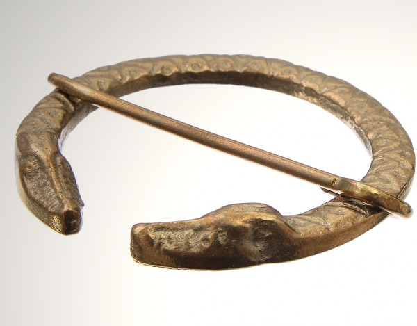 Drachen Fibel bronze keltisch