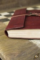 Leder Notizbuch Large