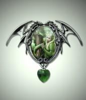 Kette Drachenkönigin grün