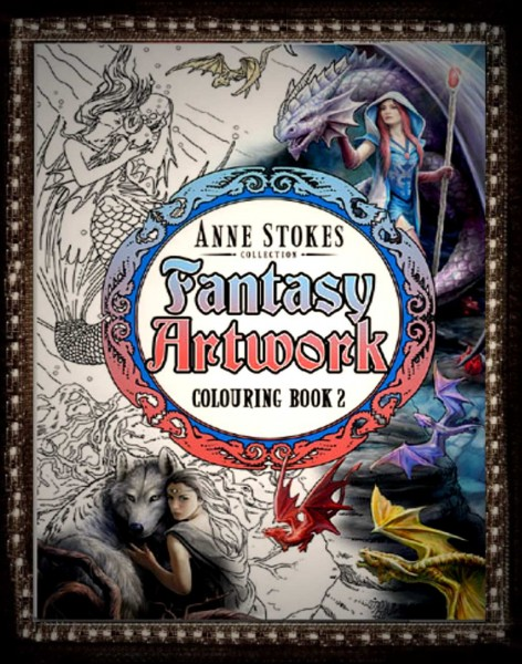 Malbuch Anne Stokes II