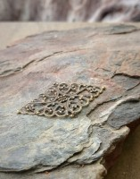 Zierteil bronze filigran