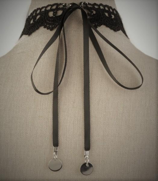 Halsband Kette Spitze