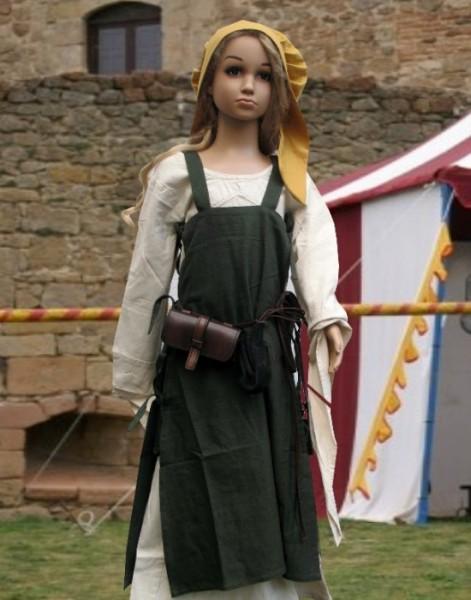 Wikingerkleid Mädchen 3-teilig