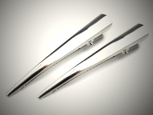 5 x Haarklammer Spange 75mm