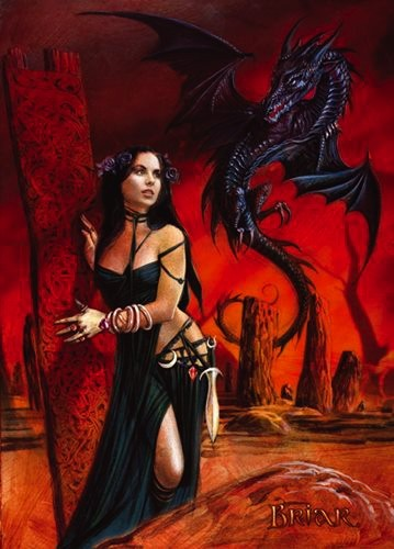 Briar Fantasy Karte Gothic