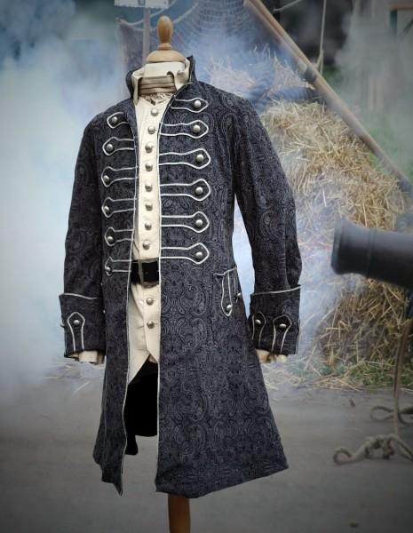 Piratenmantel Rokoko Jacquard