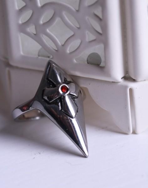 Ring Metall Kreuz